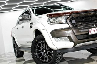 2015 Ford Ranger PX MkII Wildtrak 3.2 (4x4) White 6 Speed Automatic Dual Cab Pick Up.