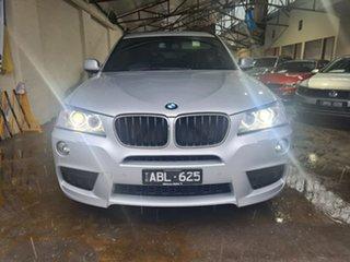 2014 BMW X3 F25 MY1213 xDrive20d Steptronic Silver 8 Speed Automatic Wagon.