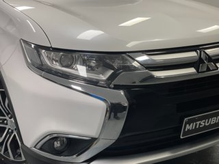 2015 Mitsubishi Outlander ZJ MY14.5 LS 4WD White 6 Speed Constant Variable Wagon.