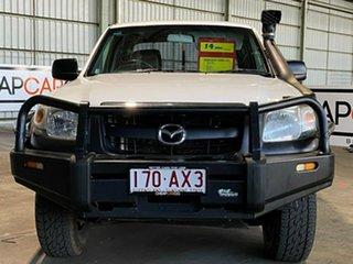 2008 Mazda BT-50 UNY0E3 DX White 5 Speed Manual Utility.