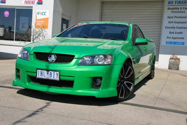 Used Holden Commodore VE SV6 Wendouree, 2008 Holden Commodore VE SV6 Green 5 Speed Automatic Utility