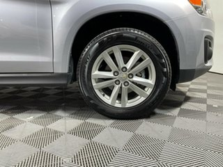 2013 Mitsubishi ASX XB MY14 2WD Silver 6 Speed Constant Variable Wagon