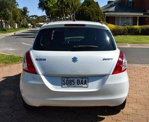 2013 Suzuki Swift FZ GA White 5 Speed Manual Hatchback