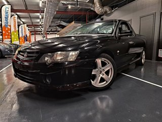 2004 Holden Ute VY II Storm S Black 4 Speed Automatic Utility