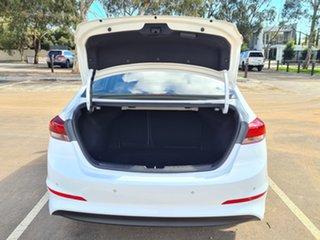 2016 Hyundai Elantra AD MY17 Elite White 6 Speed Sports Automatic Sedan