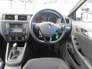 2016 Volkswagen Jetta 1B MY16 118TSI DSG Trendline White 7 Speed Sports Automatic Dual Clutch Sedan