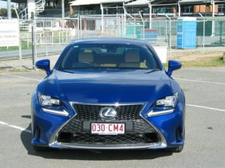 2016 Lexus RC350 GSC10R MY17 F Sport Blue 8 Speed Automatic Coupe.