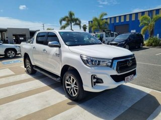 2019 Toyota Hilux Glacier White Automatic Dual Cab.