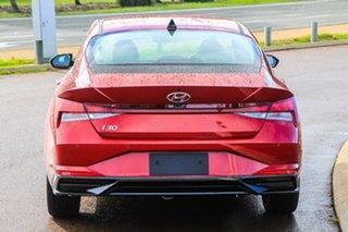 2021 Hyundai i30 CN7.V1 MY21 Active Fiery Red 6 Speed Sports Automatic Sedan.