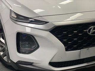 2019 Hyundai Santa Fe TM MY19 Active White 8 Speed Sports Automatic Wagon.