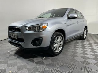 2013 Mitsubishi ASX XB MY14 2WD Silver 6 Speed Constant Variable Wagon.
