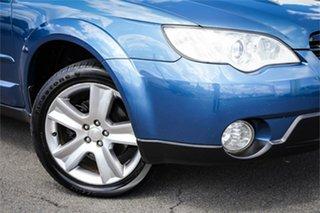 2007 Subaru Outback B4A MY07 Luxury D/Range AWD Blue 5 Speed Manual Wagon.