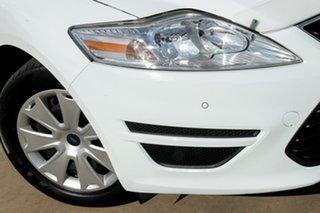 2012 Ford Mondeo MC LX PwrShift TDCi White 6 Speed Sports Automatic Dual Clutch Wagon.