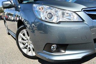 2010 Subaru Liberty B5 MY10 2.5i Lineartronic AWD Premium Sage Green 6 Speed Constant Variable Sedan.