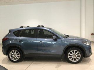 2013 Mazda CX-5 KE1031 MY14 Grand Touring SKYACTIV-Drive AWD Blue Reflex 6 Speed Sports Automatic.