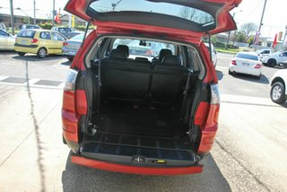 2008 Mitsubishi Outlander ZG MY08 VR-X Luxury (7 Seat) Red 6 Speed Auto Sports Mode Wagon