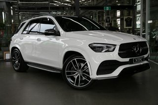 2020 Mercedes-Benz GLE-Class V167 800+050MY GLE300 d 9G-Tronic 4MATIC White 9 Speed Sports Automatic.