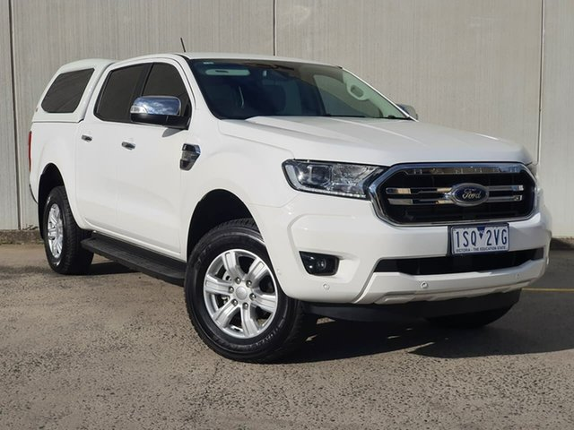 Used Ford Ranger PX MkIII 2020.25MY XLT Oakleigh, 2020 Ford Ranger PX MkIII 2020.25MY XLT White 6 Speed Sports Automatic Double Cab Pick Up