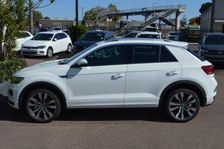 2021 Volkswagen T-ROC A1 MY21 140TSI DSG 4MOTION Sport Pure White 7 Speed.
