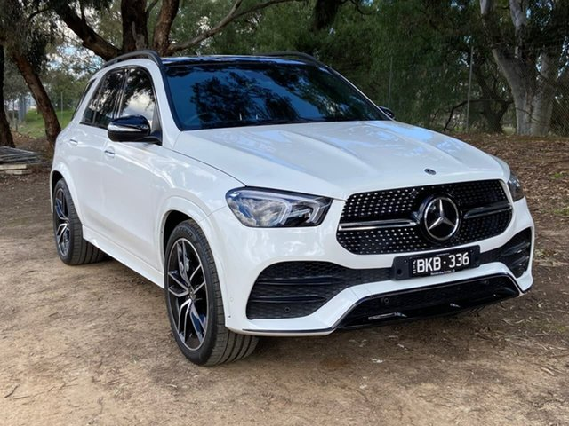 Demo Mercedes-Benz GLE-Class V167 800+050MY GLE400 d 9G-Tronic 4MATIC Epsom, 2020 Mercedes-Benz GLE-Class V167 800+050MY GLE400 d 9G-Tronic 4MATIC White 9 Speed Sports Automatic