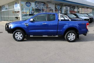 2013 Ford Ranger PX XLT Super Cab Blue 6 Speed Sports Automatic Utility