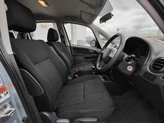 2010 Suzuki SX4 GYB MY10 Blue 6 Speed Manual Hatchback.