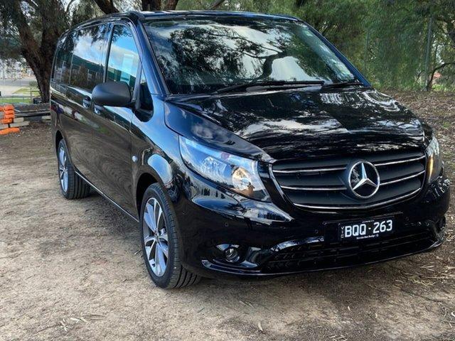 Demo Mercedes-Benz Valente 447 MY21 116CDI 7G-Tronic + Epsom, 2021 Mercedes-Benz Valente 447 MY21 116CDI 7G-Tronic + Black 7 Speed Sports Automatic Wagon