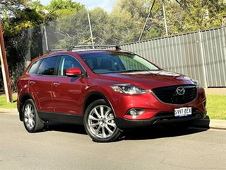 2013 Mazda CX-9 TB10A5 Luxury Activematic AWD Red 6 Speed Sports Automatic Wagon.