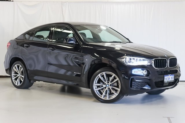 Used BMW X6 F16 xDrive30d Coupe Steptronic Wangara, 2017 BMW X6 F16 xDrive30d Coupe Steptronic Black 8 Speed Sports Automatic Wagon