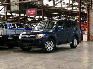 2007 Mitsubishi Pajero NS Exceed Blue 5 Speed Sports Automatic Wagon.