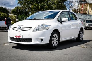 2010 Toyota Corolla ZRE152R MY10 Ascent White 4 Speed Automatic Hatchback