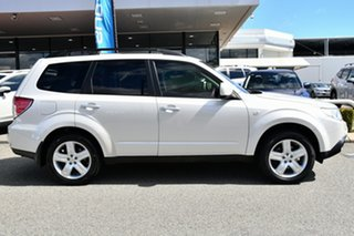 2009 Subaru Forester S3 MY09 XS AWD Satin White Pearl 4 Speed Sports Automatic Wagon