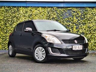 2015 Suzuki Swift FZ MY15 GL Black 5 Speed Manual Hatchback.