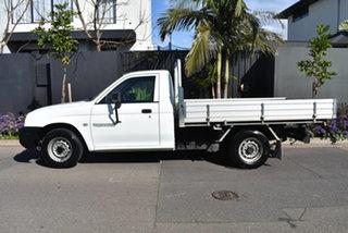2004 Mitsubishi Triton MK MY04 GL 4x2 White 5 Speed Manual Cab Chassis.
