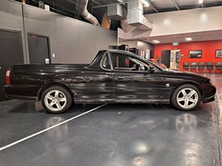 2004 Holden Ute VY II Storm S Black 4 Speed Automatic Utility.