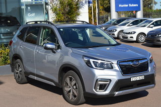 2021 Subaru Forester S5 MY21 2.5i-S CVT AWD Ice Silver Metallic 7 Speed Constant Variable Wagon.