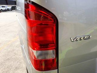 2018 Mercedes-Benz Vito 447 114BlueTEC LWB 7G-Tronic + Silver 7 Speed Sports Automatic Van