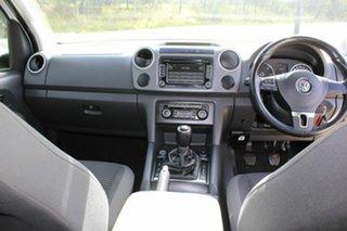 2012 Volkswagen Amarok 2H MY12.5 TDI400 4Mot Highline White 6 Speed Manual Utility