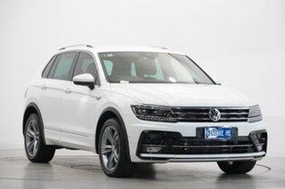 2019 Volkswagen Tiguan 5N MY19.5 132TSI DSG 4MOTION R-Line Edition White 7 Speed