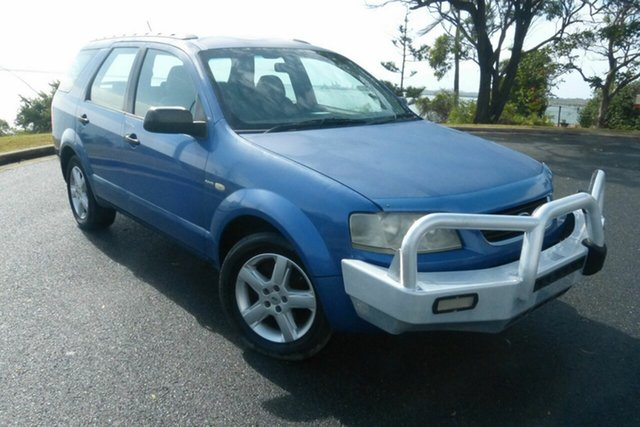 Used Ford Territory SX TX AWD Gladstone, 2004 Ford Territory SX TX AWD Blue 4 Speed Sports Automatic Wagon