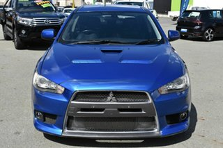 2008 Mitsubishi Lancer CJ Evolution MR Blue 6 Speed Direct Shift Sedan.