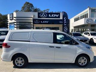 2021 LDV G10 SV7C + D 8 Speed Sports Automatic Van.