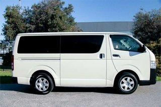 2016 Toyota HiAce KDH201V White 4 Speed Automatic Van