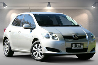 2009 Toyota Corolla ZRE152R Ascent Silver 6 Speed Manual Hatchback.