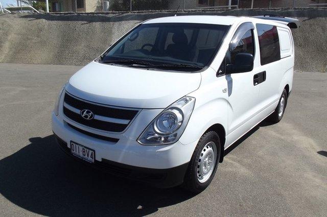 Used Hyundai iLOAD TQ2-V MY14 South Gladstone, 2014 Hyundai iLOAD TQ2-V MY14 White 5 Speed Automatic Van