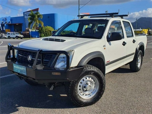 Used Holden Rodeo RA MY07 LX Crew Cab Bungalow, 2007 Holden Rodeo RA MY07 LX Crew Cab White 5 Speed Manual Utility