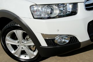 2012 Holden Captiva CG Series II MY12 7 AWD LX White 6 Speed Sports Automatic Wagon.