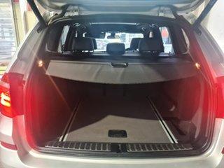 2014 BMW X3 F25 MY1213 xDrive20d Steptronic Silver 8 Speed Automatic Wagon