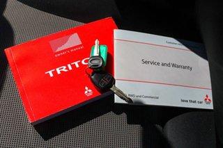 2013 Mitsubishi Triton MN MY13 GLX Double Cab Silver 5 Speed Manual Utility