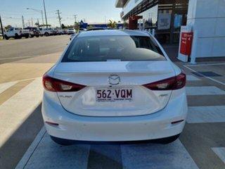 2015 Mazda 3 BM MY15 SP25 GT Safety White 6 Speed Automatic Sedan.